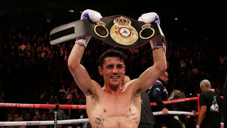 Anthony Crolla thinks another Englishman will win a world title this weekend