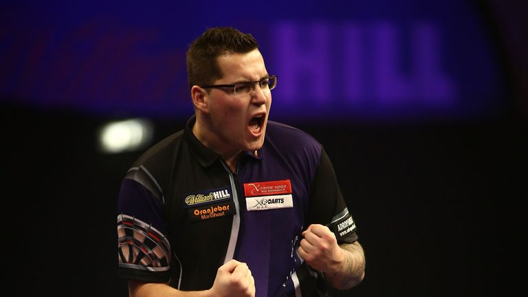 Benito van de Pas produced a series of good finishes to beat James Wade
