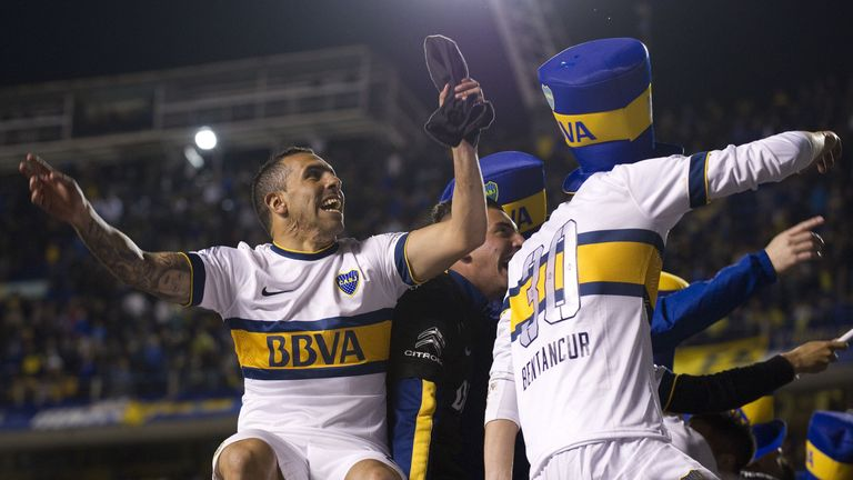 Catrlos Tevez's Boca Juniors are one of the many clubs who use Wyscout