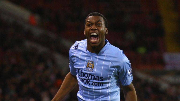 Daniel Sturridge joined Man City at the age of 13