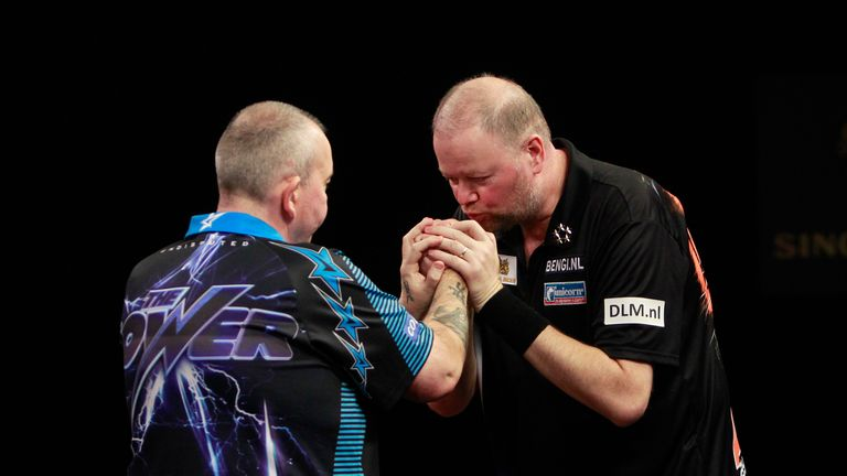 Could this be the final meeting between Raymond van Barneveld and Phil Taylor?