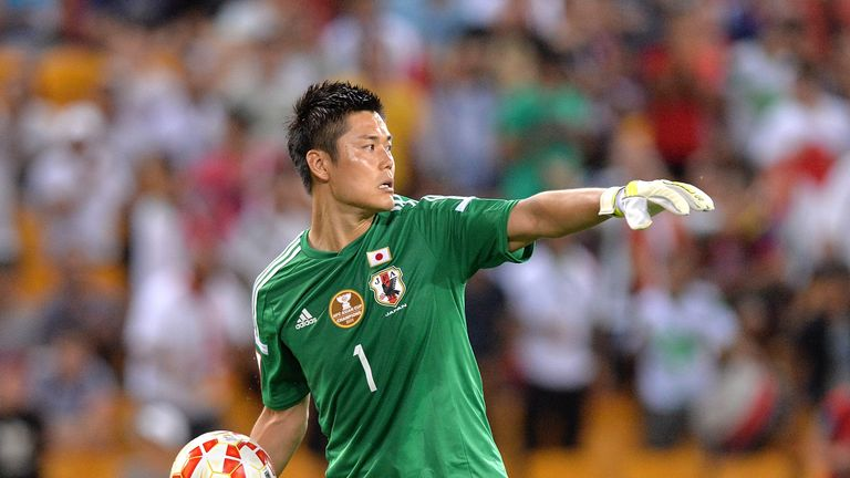 Kawashima was with Standard Liege until the summer of 2015