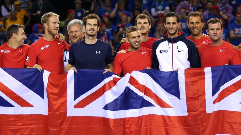 abafe94ff Great Britain are hoping to lift the Davis Cup title this weekend