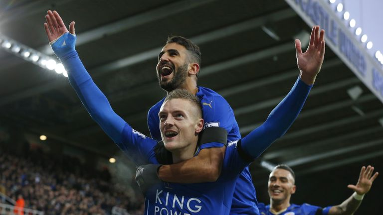 Jamie Vardy scored on his last game against Newcastle earlier this season