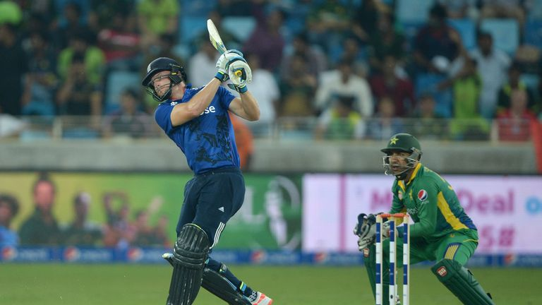 Jos Buttler (left) starred in the 4th One Day International between England and Pakistan