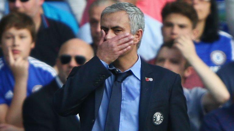 Jose Mourinho is under pressure at Chelsea