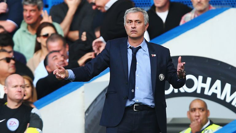Jose Mourinho has led Chelsea to their worst ever Premier League start