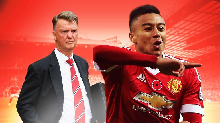 Louis van Gaal's faith in Jesse Lingard is being rewarded at Manchester United