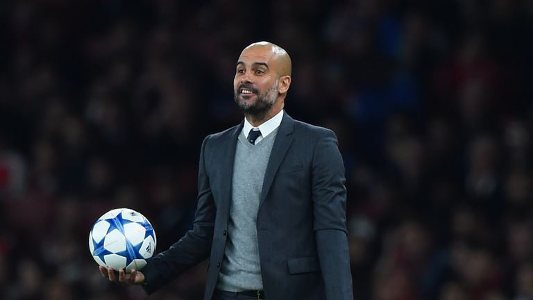 Pep Guardiola has been linked with a move to England