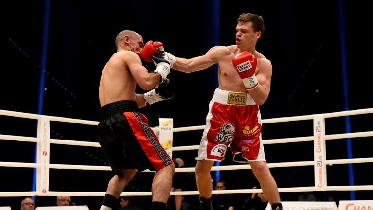 Robert Tlatlik moved to 18-0, stopping Said Rahimi in the last round