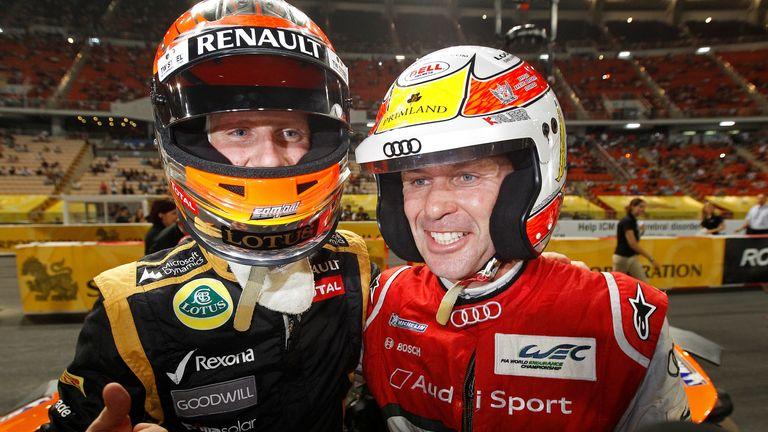 Romain Grosjean and Tom Kristensen will be racing