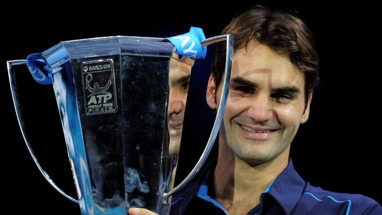 Federer is targeting his first win at London's O2 since 2011