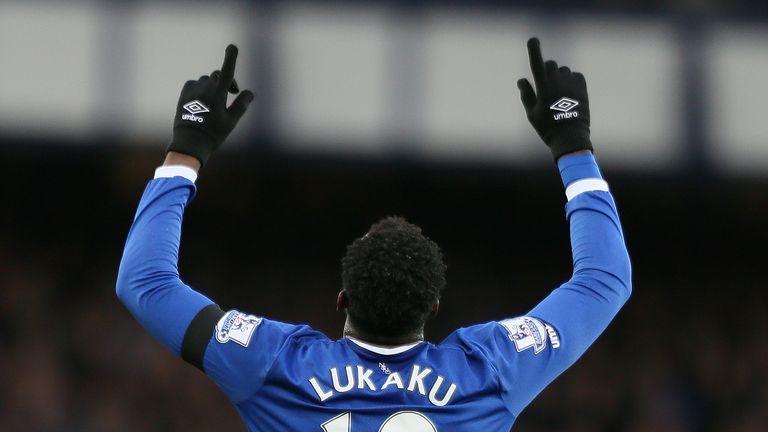 Everton's Romelu Lukaku has scored seven goals in his last eight games