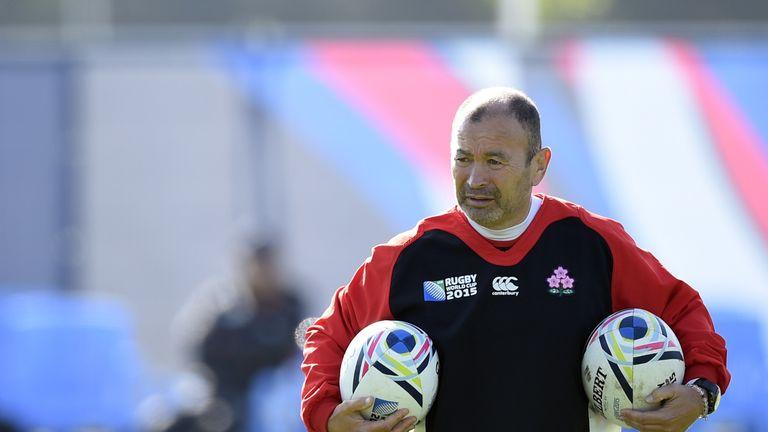 Eddie Jones was head coach of Japan between 2012 and 2015