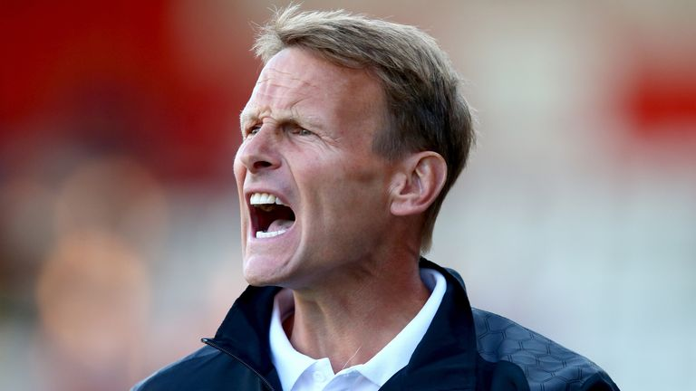 Teddy Sheringham: Stevenage boss