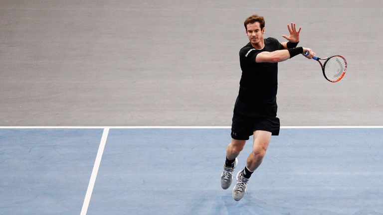Andy Murray will train largely on clay this week ahead of Britain's Davis Cup final against Belgium