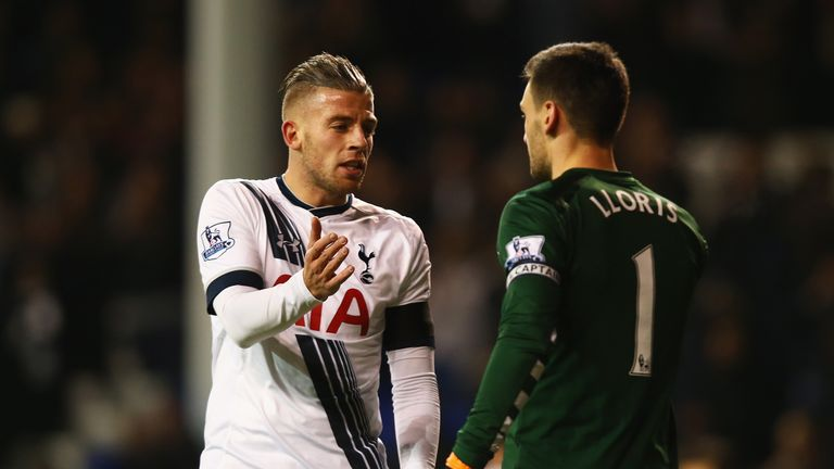 Toby Alderweireld and Lloris will reunite after the international break on Saturday Night Football
