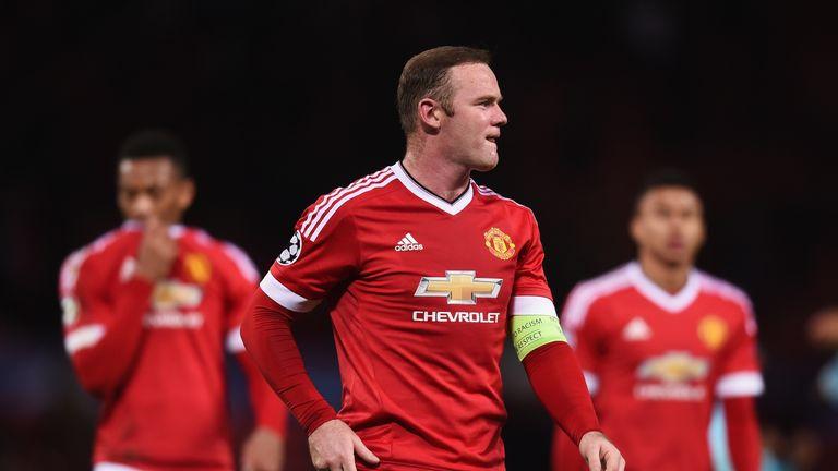 Wayne Rooney has scored just two Premier League goals this season