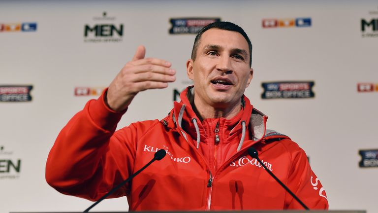 Wladimir Klitschko has been there, seen it, done it all before