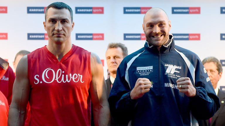 Wladimir Klitschko and and Tyson Fury