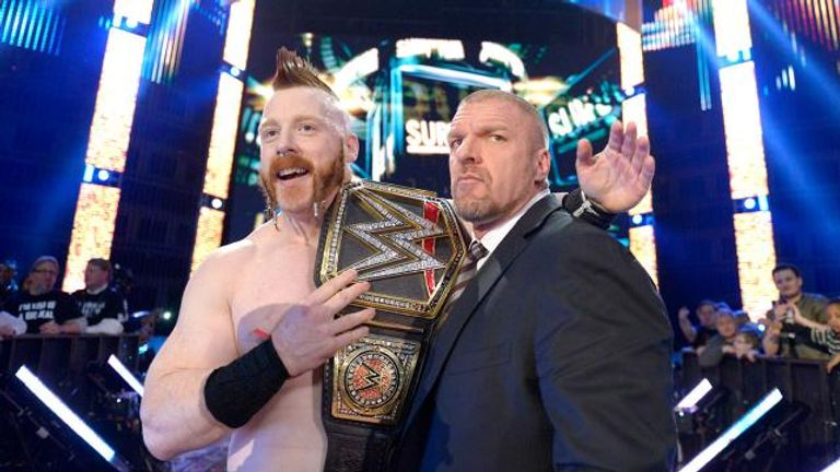 Sheamus is now the proud holder of WWE's ultimate prize