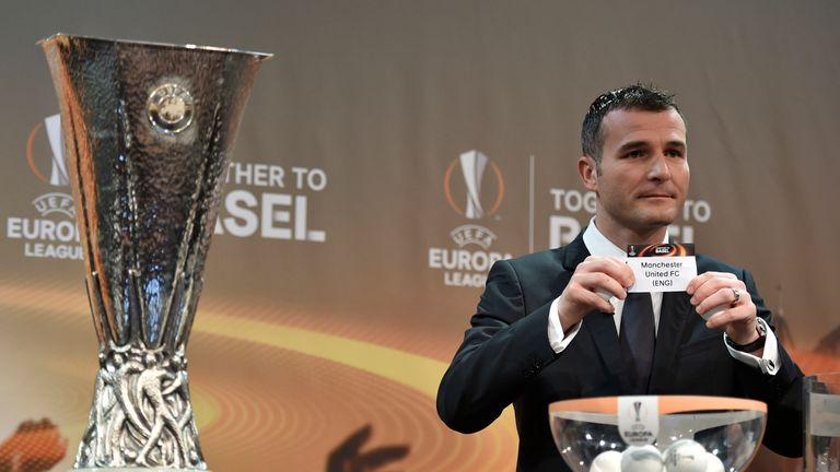 The Europa League draw is to take place on Friday