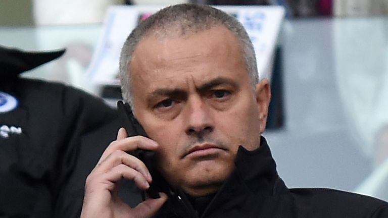 Jose Mourinho took in Brighton's game with Middlesbrough on Saturday and is now thought to be back in Portugal