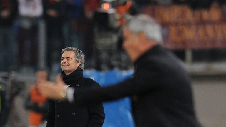 Mourinho and Ranieri came into conflict during their time in Italy