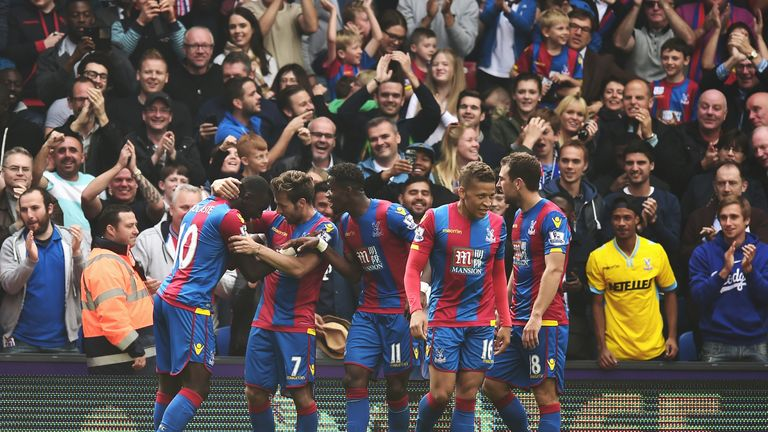 Crystal Palace have enjoyed a successful first half to the season