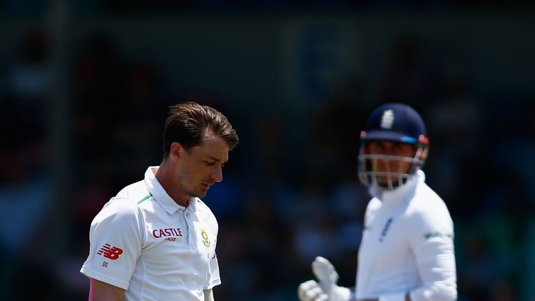 Dale Steyn is 50-50 to feature in the third Test in Johannesburg