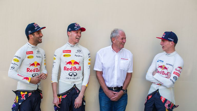 Verstappen (right) may put pressure on the main Red Bull drivers's seats for 2017