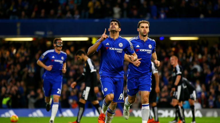 Reports in Spain have linked Diego Costa with a return to former club Atletico Madrid