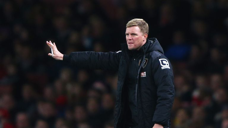 Bournemouth boss Eddie Howe was encouraged by his team's performance in defeat at Arsenal