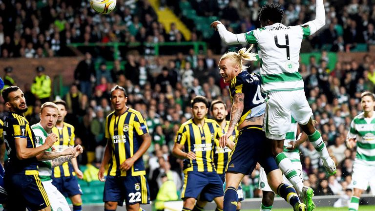 Celtic drew 2-2 with Fenerbahce in Glasgow despite opening a two-goal lead