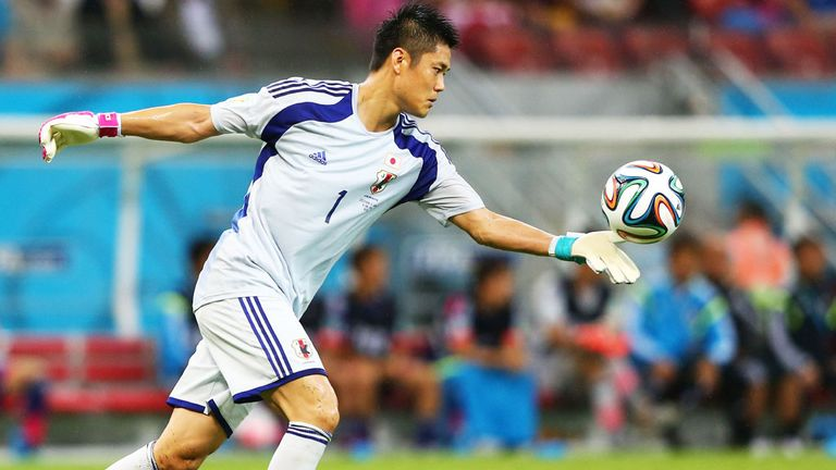 Japan goalkeeper Eiji Kawashima played in the 2010 and 2014 World Cup