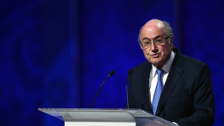 Ex-FIFA president Sepp Blatter claims draws were rigged