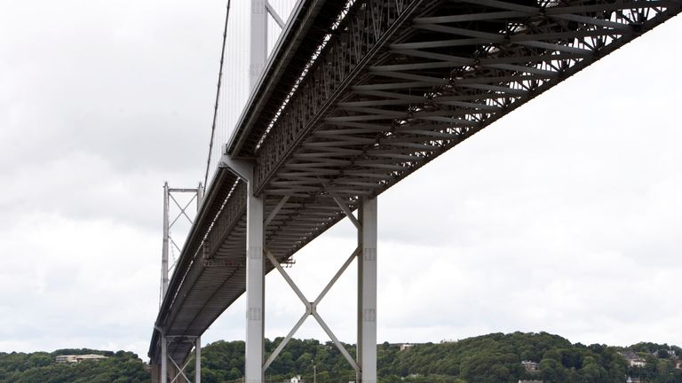 The closure of the Forth Road Bridge will affect some football fans in Scotland this weekend