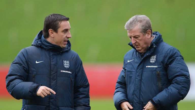 Neville insists his long-term future is not in management