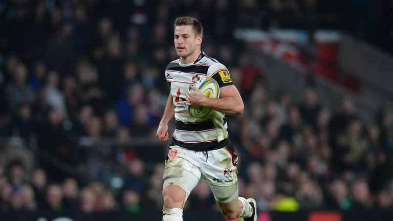 Henry Trinder of Gloucester has a knee ligament problem