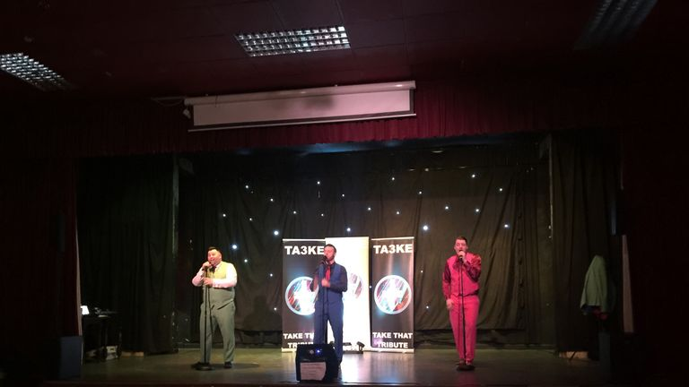 'Take Three' at the Walsall Supporters Club - what better way to round off the 10 in 10 adventure?