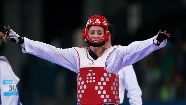 Jade Jones won bronze at the World Taekwondo Grand Prix Finals