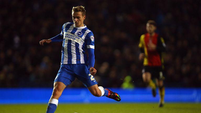 James Wilson scored his first goal for Brighton against Charlton