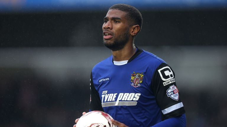 Jerome Okimo is a doubt for Stevenage