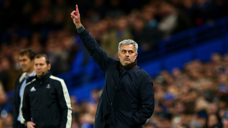 Jose Mourinho's Chelsea travel to Premier League leaders Leicester on Monday Night Football