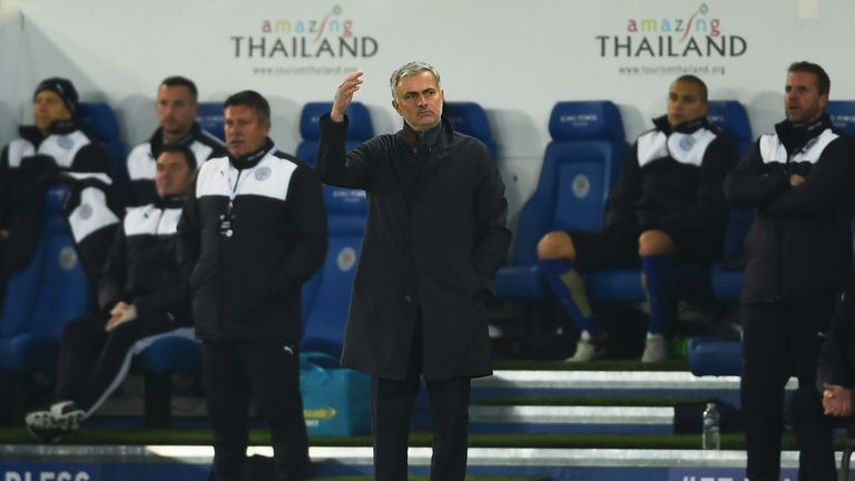Jose Mourinho was sacked as Chelsea manager on Thursday