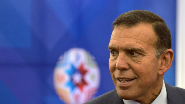 Juan Angel Napout received a nine-year term