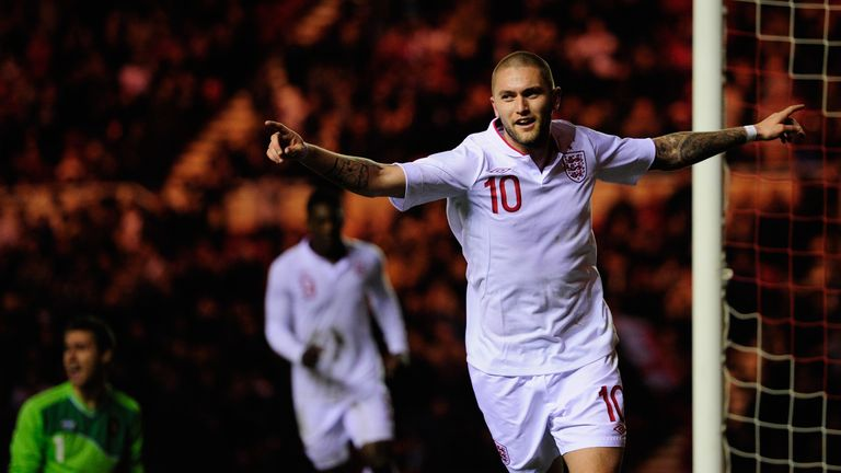 The midfielder featured prominently for England U21s, but has never played for the senior team