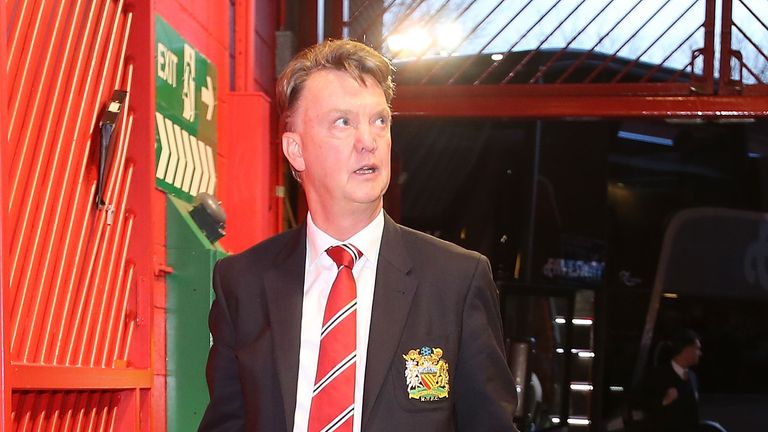 Louis van Gaal is under pressure at Manchester United