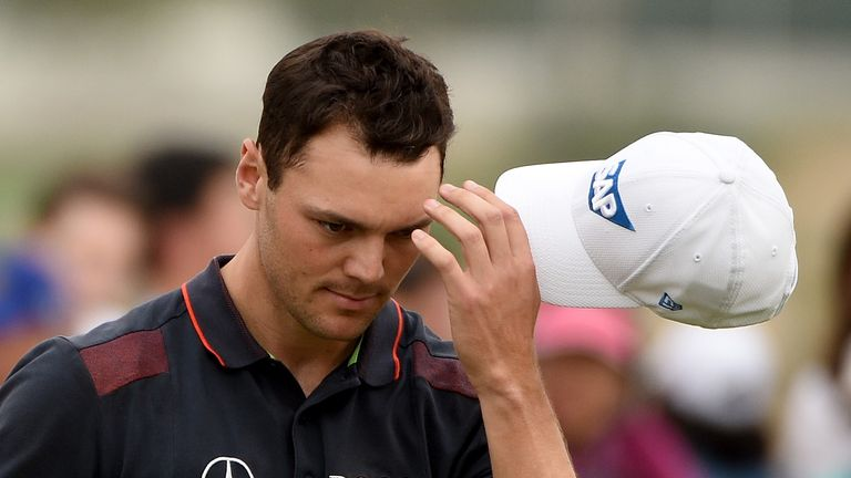 Kaymer had to settle for third after his late collapse 12 months ago