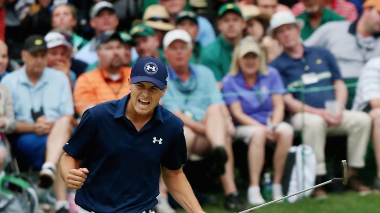 Jordan Spieth equalled the Masters record of 18 under last year, but conditions will be tougher this week